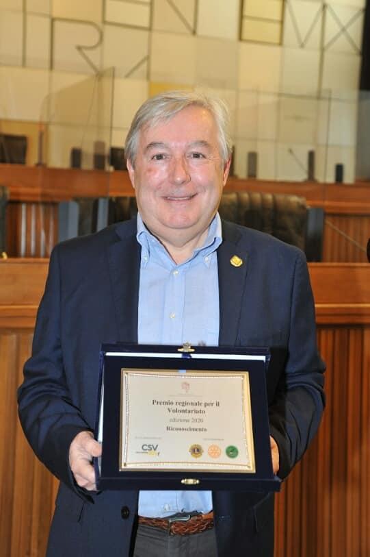 Il presidente dell'Avis Regionale Valle d'Aosta, Pier Paolo Civelli