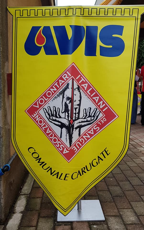 Lo stemma dell'Avis Comunale di Carugate