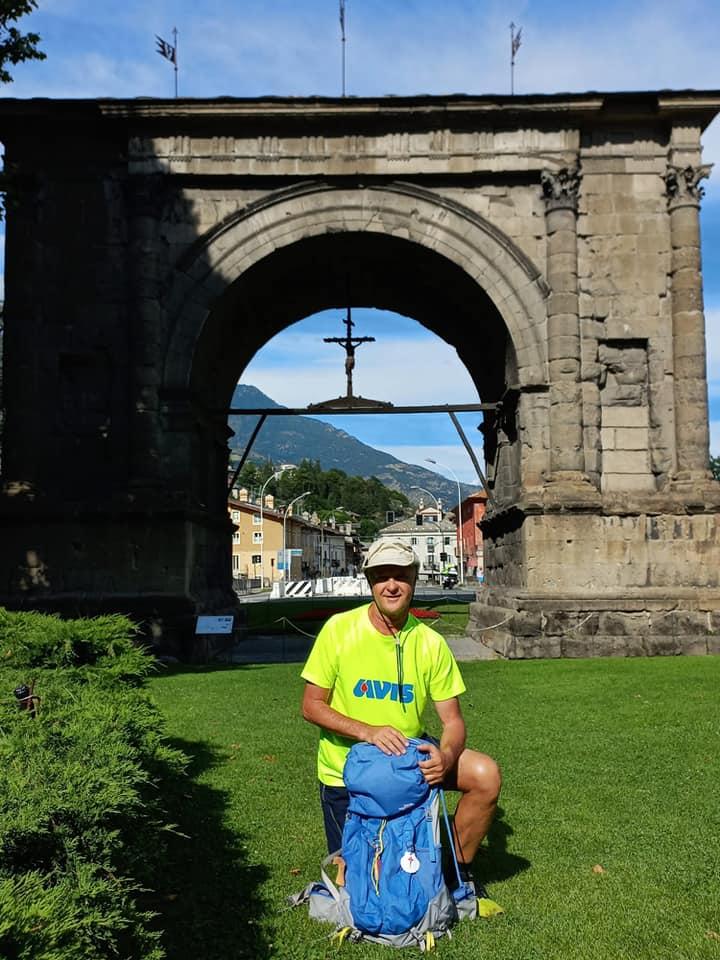 L'arrivo ad Aosta