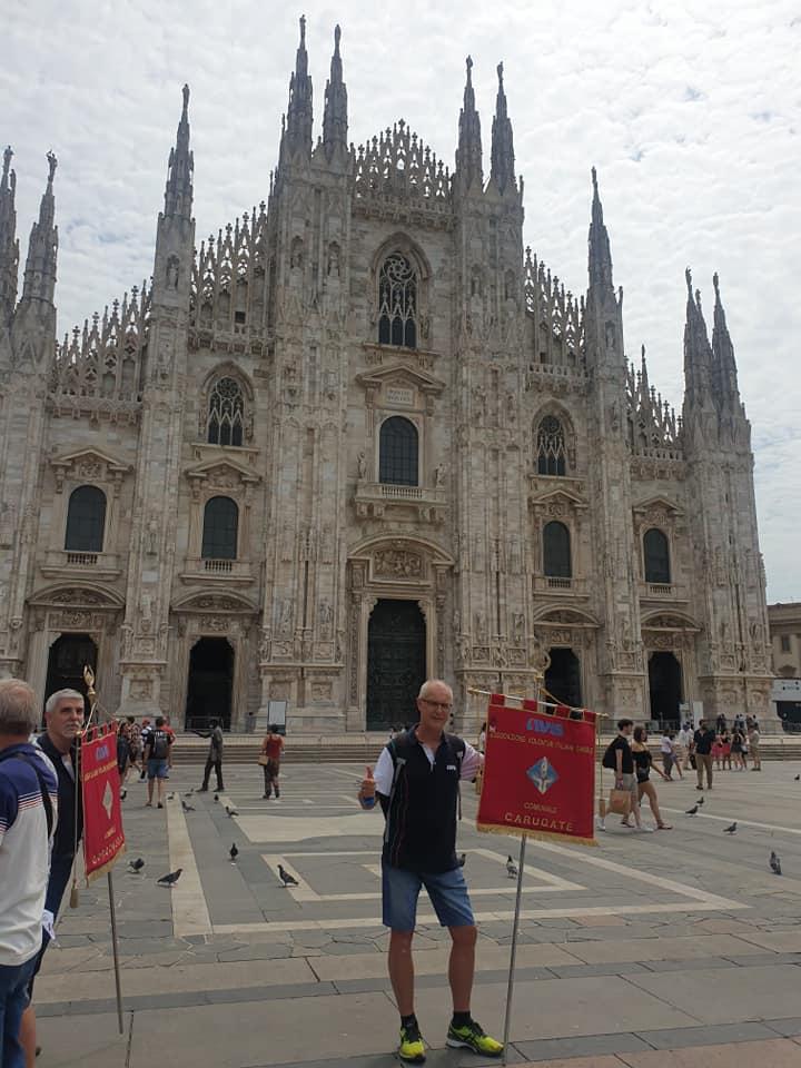 La tappa di Milano