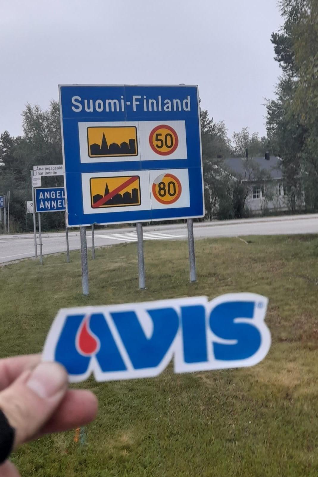L'arrivo in Finlandia