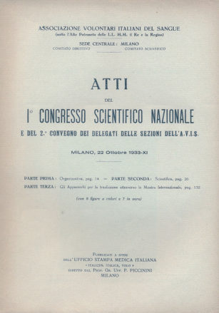 congresso scientifico nazionale