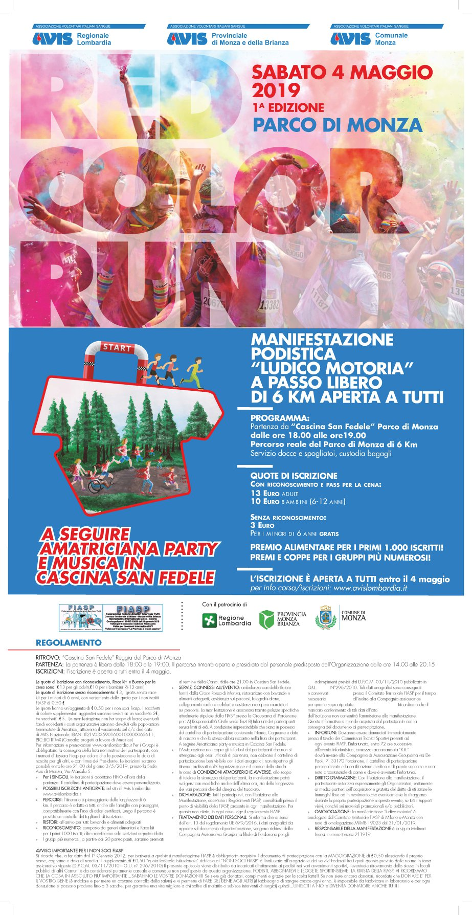 Red color run
